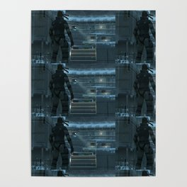 Huh, What's That Noise Metal Gear Solid Poster