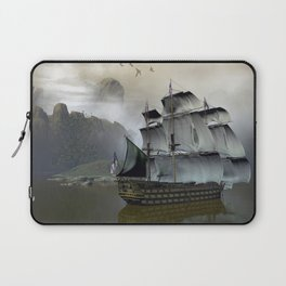 Old Sail Ship Laptop Sleeve