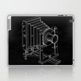 Vintage Camera Blueprint Sheet One Laptop & iPad Skin