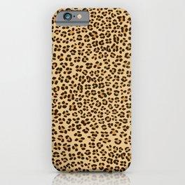 Leopard Spots Pattern iPhone Case