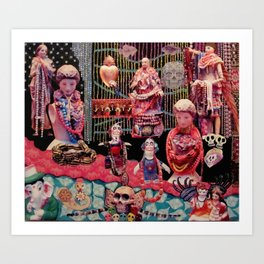 Beads of Paradise Shop NYC Art Print