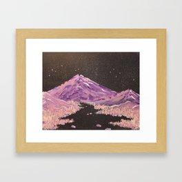 Hazey Chains Framed Art Print