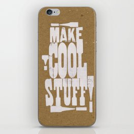 MAKE COOL STUFF!!!!  iPhone Skin