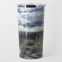 Fall in Canmore - Canada  Travel Mug