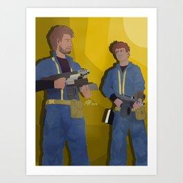Fallout Immersion Art Print