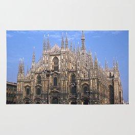 Vintage 1940's Color Photo Duomo di Milano Rug
