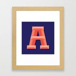 A Framed Art Print