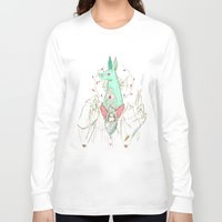 verse Long Sleeve T-shirts featuring A Case of Verse, Reverse by Celina de Guzman