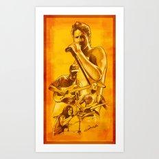 Audioslave - Série Ouro Art Print