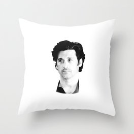 Derek Shepherd Throw Pillow