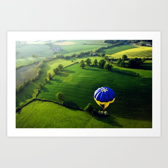 Above The Shires Art Print