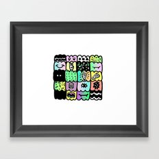 I am a  coloured pattern, pattern Framed Art Print