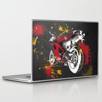 ducati Laptop & iPad Skins featuring Ducati 1098 Color Spots by Larsson Stevensem