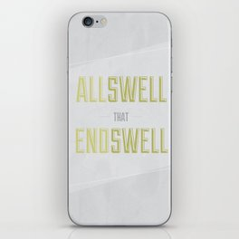 Allswell iPhone Skin