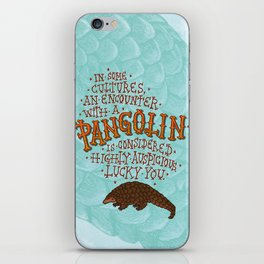 Pangolin iPhone Skin