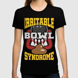 Irritable Bowl Syndrome T-Shirt Bowling Tee T-shirt