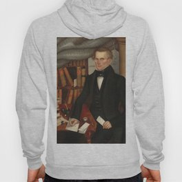 Vermont Lawyer Oil Painting by Horace Bundy Hoody