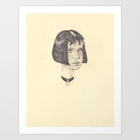 wip Mathilda  Art Print