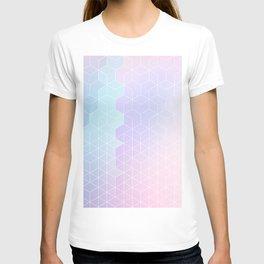 Geometric pastel vibes pattern 1 #pattern #decor #abstractart T-shirt