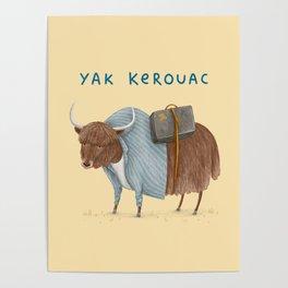 Yak Kerouac Poster