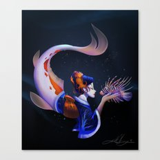 A Moving Work of Art Canvas Print
