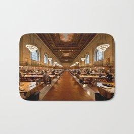 New York Public Library Bath Mat