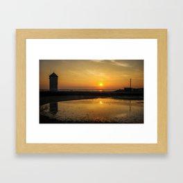Brightlingsea Beach Framed Art Print