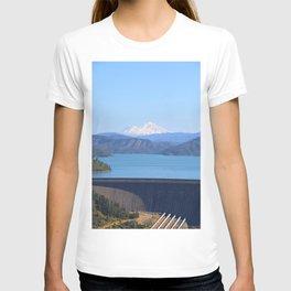 Mount Shasta and Shasta Lake T-shirt