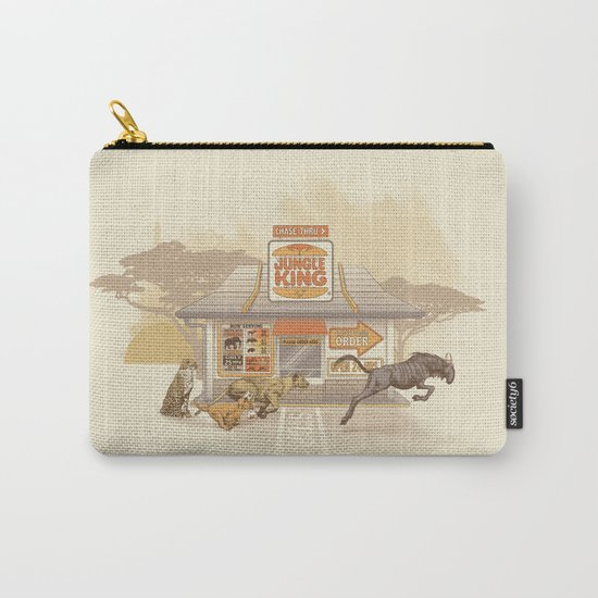 Fast Food (Jungle King) Carry-All Pouch