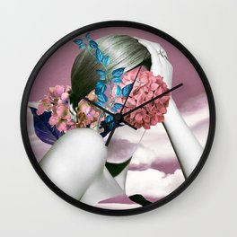 feel the nature Wall Clock