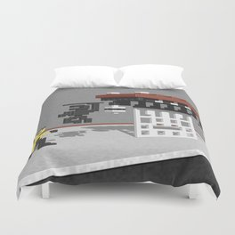 BruceLee Commodore 64 game tribute Duvet Cover