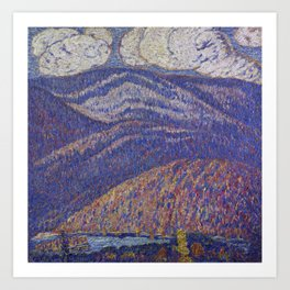 Hall of the Mountain King by Marsden Hartley Art Print