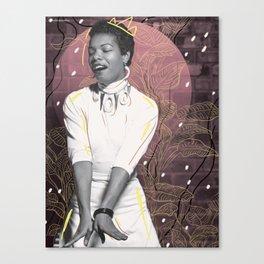 Maya Angelou (for #TimesUp no. 2) Canvas Print