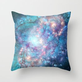 Abstract Galaxies 2 Throw Pillow