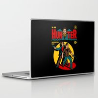 comic Laptop & iPad Skins featuring Hunter Comic by harebrained