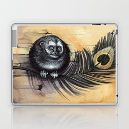 Owl Monkey Laptop & iPad Skin