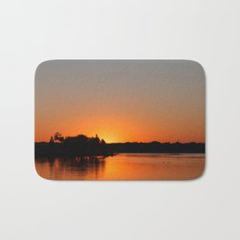 Sunset at Sunset Bay Bath Mat