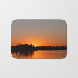 Sunset at Sunset Bay Bath Mat
