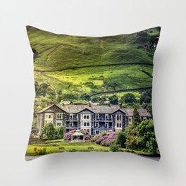 Lake Ullswater 4 Throw Pillow