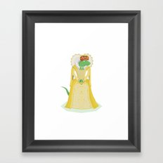 Queen Elizardbeth I Framed Art Print