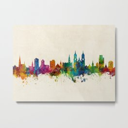 St Gallen Switzerland Skyline Metal Print