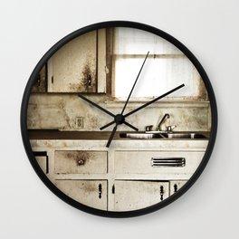 Kitchen Neglect Wall Clock