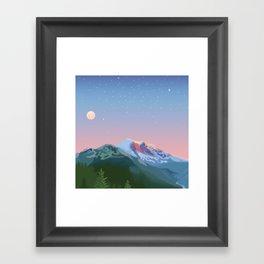 Tahoma Framed Art Print