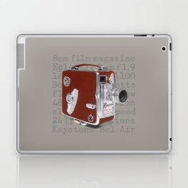 Vintage Movie Camera Laptop & iPad Skin