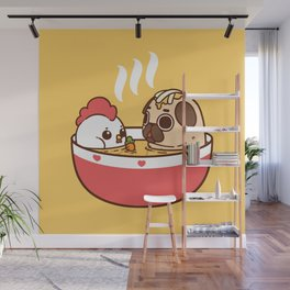 Chicken Noodle Puglie Soup Wall Mural