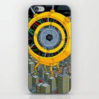 rogue iPhone & iPod Skins featuring Rogue Robot by Micke Nikander