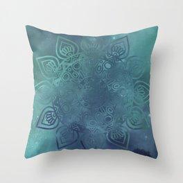 Universe Mandala Throw Pillow