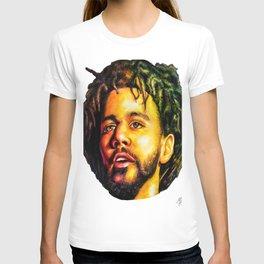 J.Cole Portrait T-shirt