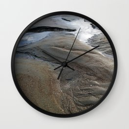 Sand Craters Wall Clock