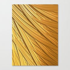 Sun-kissed Straw Canvas Print